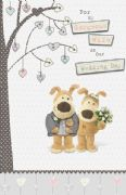 Boofle Wife on Wedding Day Card